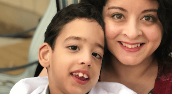 Mother does everything possible to help her son with a disability fulfill his dream