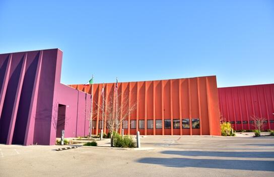 Imagen del exterior del CRIT