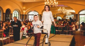 Children with disabilities hold a parade to raise funds for Teleton USA 2019