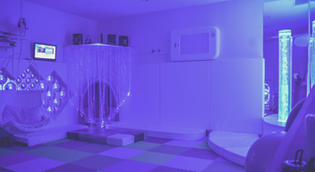 Photograph of CRIT's Multisensory Stimulation Room