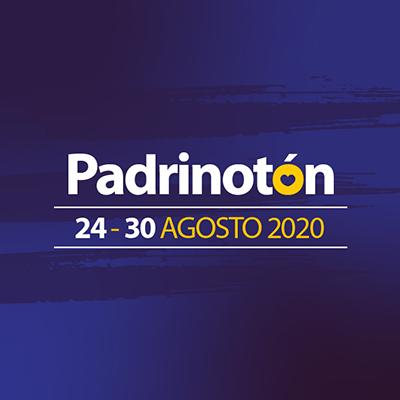 Logo oficial del evento Padrinotón 2020.