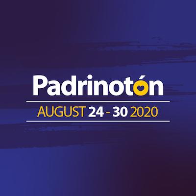 Image with Padrinotón logo.