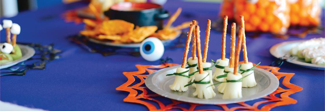 Halloween-themed recipe book