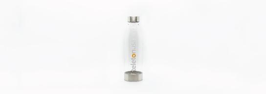 Clear TeletonUSA water bottle