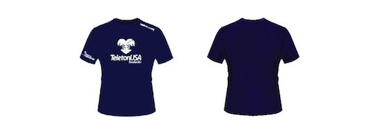 TeletonUSA 2020 official t-shirt