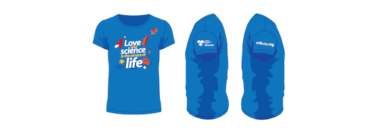 Love and Science in the Service of Life t-shirt