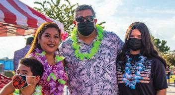 El CRIT organiza una fiesta de temática hawaiana para sus niños y niñas